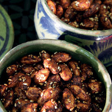 Honey-Spiced Almonds
