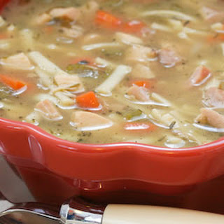 South Beach Diet Friendly Chicken Noodle Soup