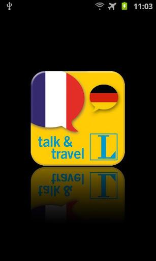 Französisch talk travel
