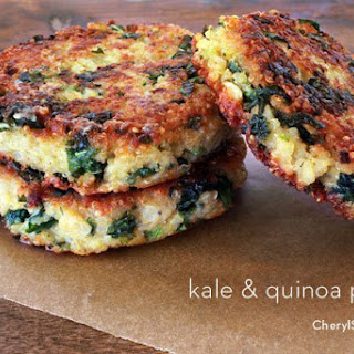 Healthy Kale Quinoa Patties