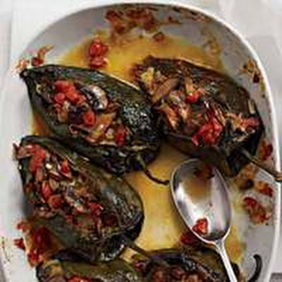 corn and crema serious eats corn husks baked chile rellenos with corn ...
