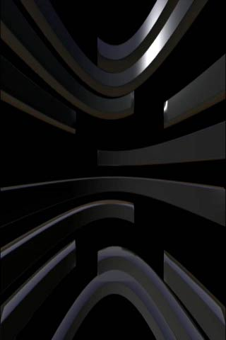 Black Disc Live Wallpaper