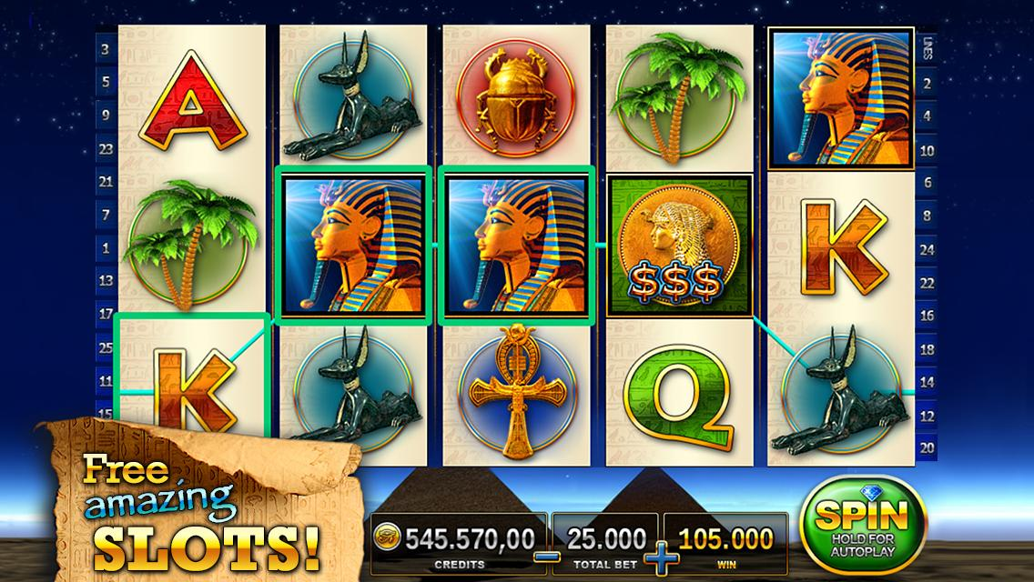 Slots - Pharaoh's Way Screenshot 11