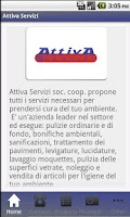 Screenshot of Attiva Servizi