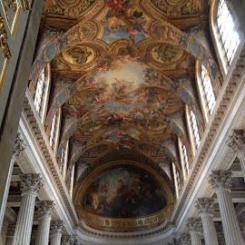 Versailles by Katie Thornton - Buildings & Architecture Architectural Detail ( Architecture, Ceilings, Ceiling, Buildings, Building )