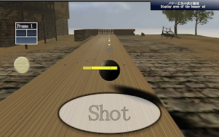 Screenshot of The Earth Bowling Free