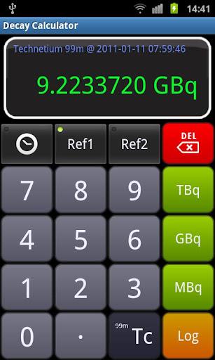 Radioactive Decay Calculator