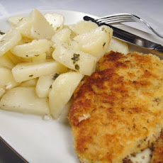 Chicken Schnitzel With Warm Potato Salad