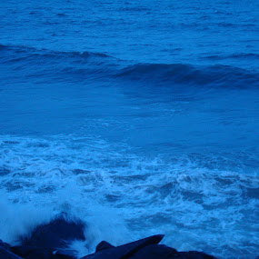 Sea Splash by Swapnanil Dhol - Novices Only Abstract ( water, blue, sea )