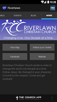 Screenshot of Riverlawn Christian Church