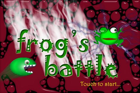 frog's battle: Action