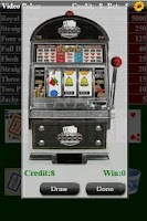 Screenshot of Video Poker