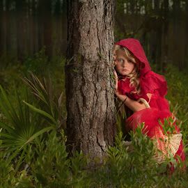 Little Red Riding Hood  by Tonya Bennett - Babies & Children Child Portraits ( brandy forstie, @ tonya bennett )