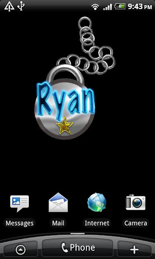 Ryan Name Tag