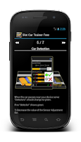 Screenshot of Slot Car Trainer Free