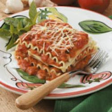 No-Bake Lasagna