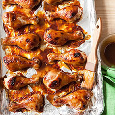 Glazed Drumsticks