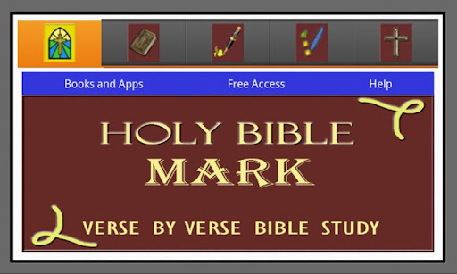 HOLY BIBLE: MARK STUDY APP
