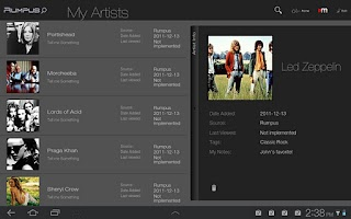 Screenshot of Rumpus - Tablet