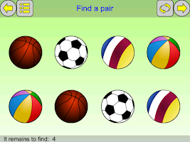Screenshot of Games for children