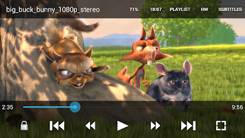 Screenshot of GoodPlayer for Android