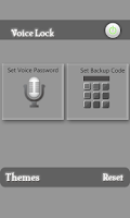Screenshot of Voice Lock