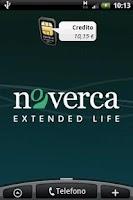 Screenshot of Noverca SIM Widget