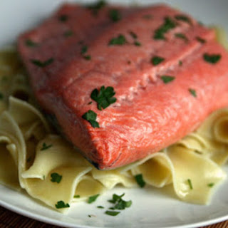 Shallow-Poached Salmon