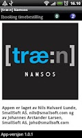 Screenshot of [træ:n] Namsos
