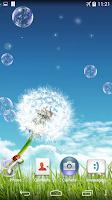 Screenshot of Soap Bubbles Live Wallpaper