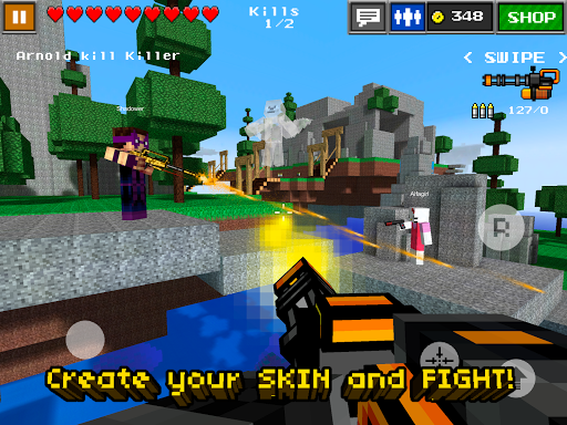 Pixel Gun 3d Pro Minecraft Ed For Android Version 4 7