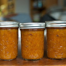 Honey-Sweetened Peach Vanilla Jam