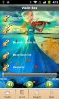 Screenshot of Violin Music