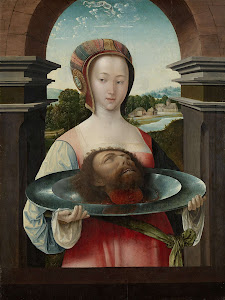 RIJKS: Jacob Cornelisz. van Oostsanen: Salome with the Head of John the Baptist 1524