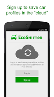 Screenshot of EcoShifter OBD2 Car