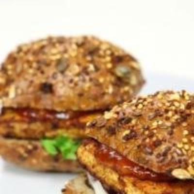 Super-healthy Tofu Burger