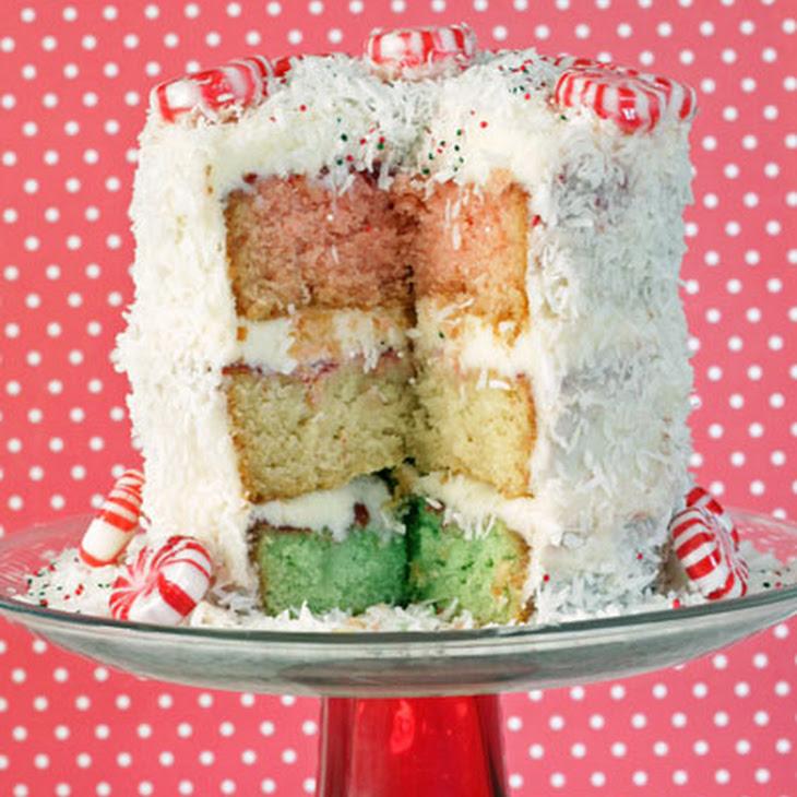 Neapolitan Christmas Cake Recipe | Yummly