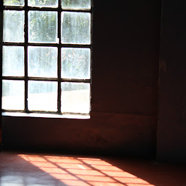 Life is a reflection of your attitude by Nabanita Goswami - Buildings & Architecture Other Interior ( window, rays )