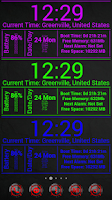 Screenshot of InfoBoxWide Zooper Widget