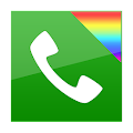 App exDialer Black ICS Theme APK for Kindle