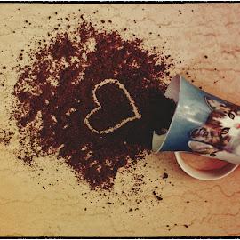 The Lovely Secret of Happy Mornings by Imran Asif - Digital Art Things ( mug, asif imran, coffee, digital art, imran asif, conceptual )