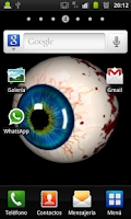 Screenshot of Horror Eye Live Wallpaper
