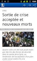 Screenshot of L'essentiel