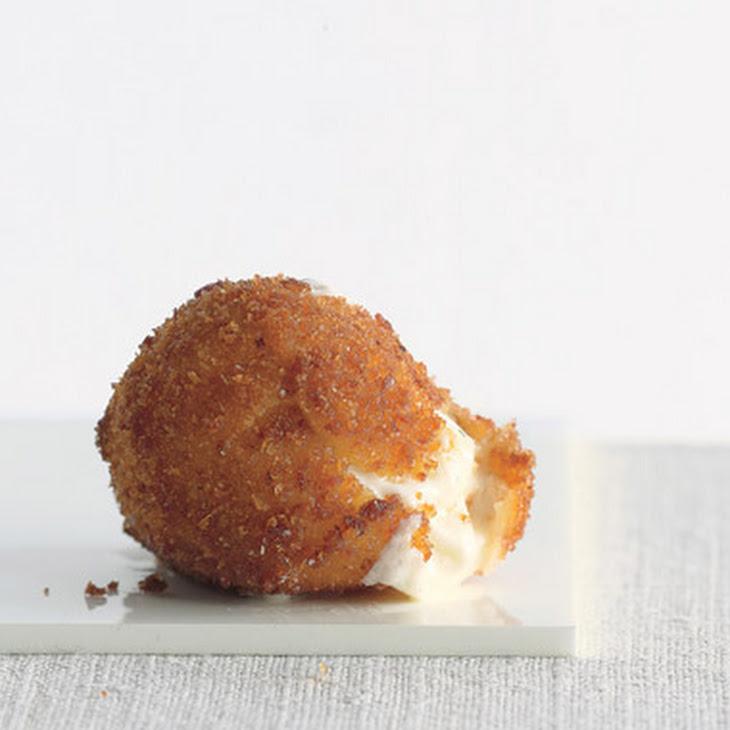 Fried Mozzarella Balls Recipe | Yummly