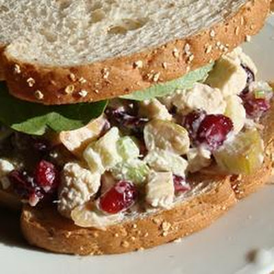 Simple Coronation Chicken Sandwich Filling