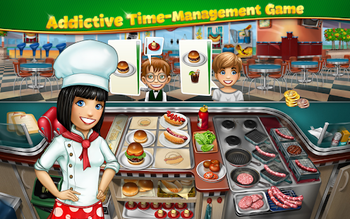 Game Cooking Fever apk for kindle fire
