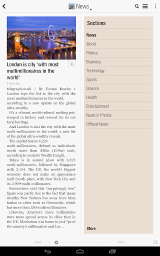 flipboard-your-news-magazine for android screenshot
