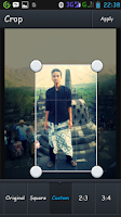 Screenshot of Selfie Photo Editing