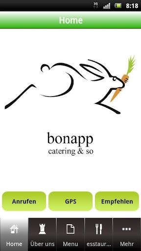 bonapp catering so