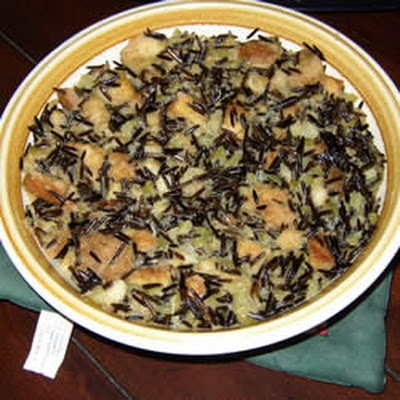 Wild Rice Stuffing for Turkey